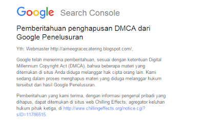 Google Blogger Digital Millenium Copyright Act