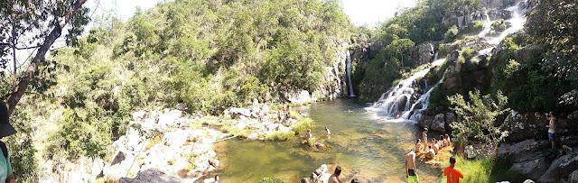Chapada dos Veadeiros Cachoeira da Capivara