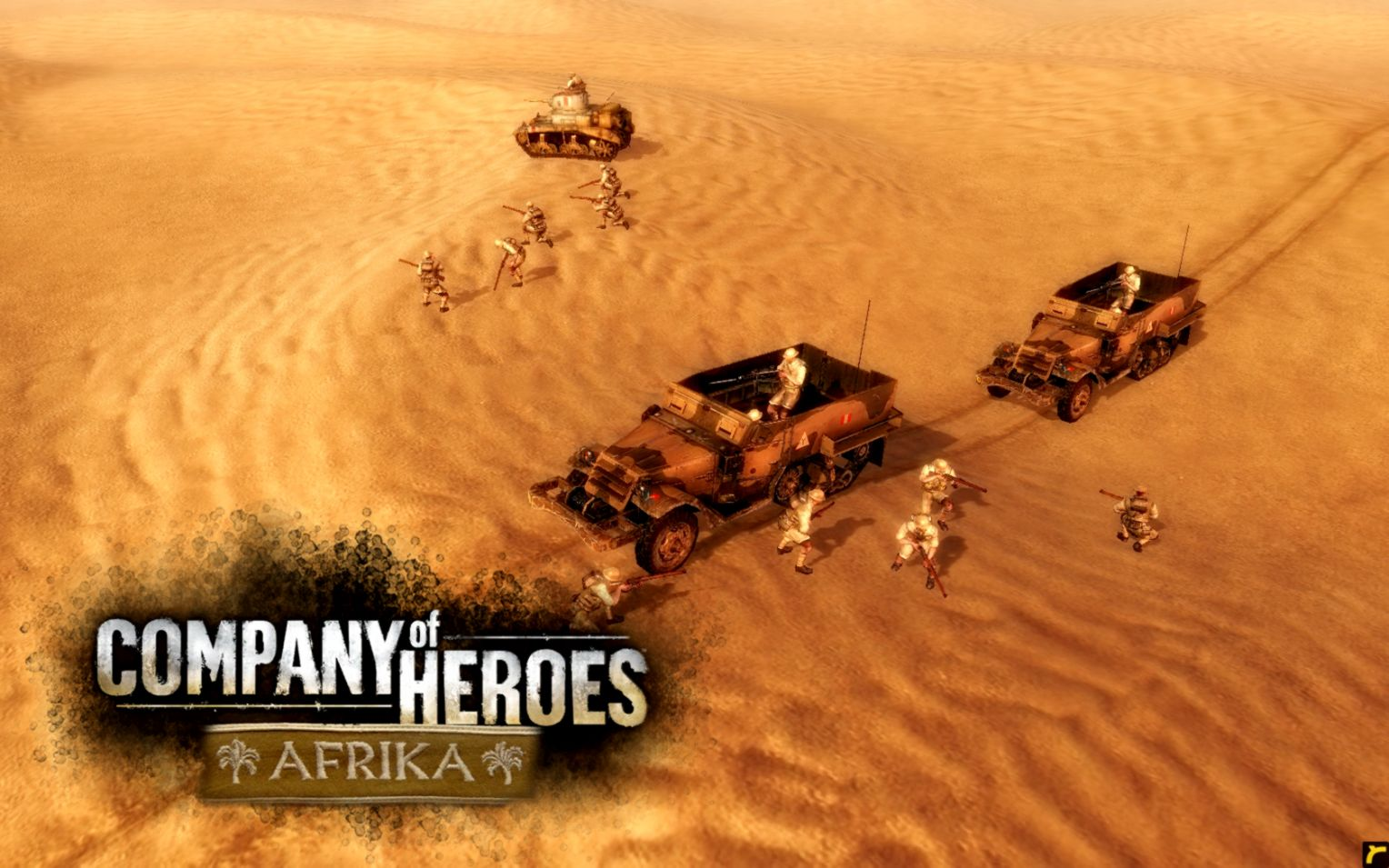 Company Of Heroes 2 Desert Landscape Wallpaper Wallpapers Quality