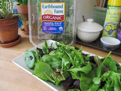 Salad Greens for Non-Buttermilk Ranch Dressing