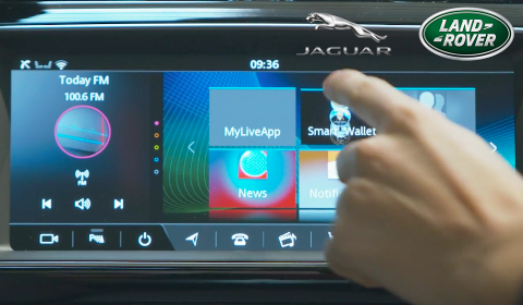 Porte-monnaie intelligent de Jaguar Land Rover