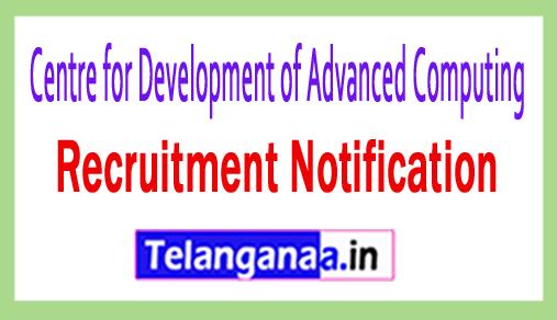 Centre for Development of Advanced Computing C-DAC Thiruvananthapuram Recruitment Notification