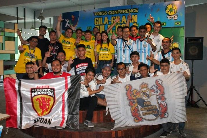 XL Ajak Komunitas Penggila Bola ke Brazil