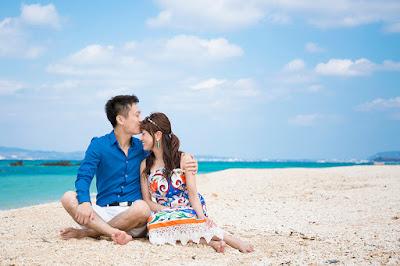 沖縄 ロケーションフォト 夫婦