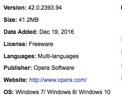 Opera Stable Free Download Latest Version