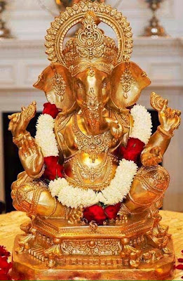 golden-color-ganeshji-new-images