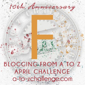 #AtoZChallenge 2019 Tenth Anniversary blogging from A to Z challenge letter