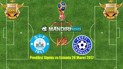 AGEN BOLA -Prediksi Siprus vs Estonia 26 Maret 2017