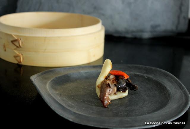 Gua bao, o panes al vapor, de costilla - La cocina de las casinas