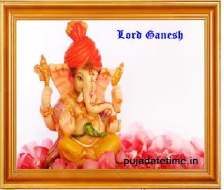Ganesh Chaturthi Puja Date
