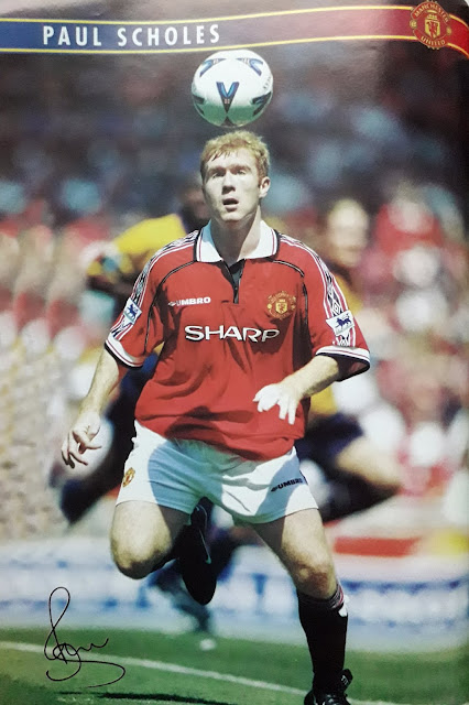 PIN UP PAUL SCHOLES (MANCHESTER UNITED)