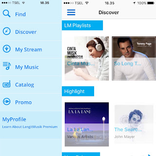 New Aplikasi Langit Musik