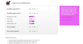 Расширение для браузера Chrome Change colors