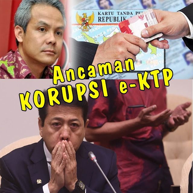 "Terlibat Korupsi e-KTP, Novanto Berikan Sinyal ""Ancaman""."