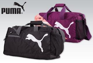 Torba sportowa podróżna Puma z Biedronki