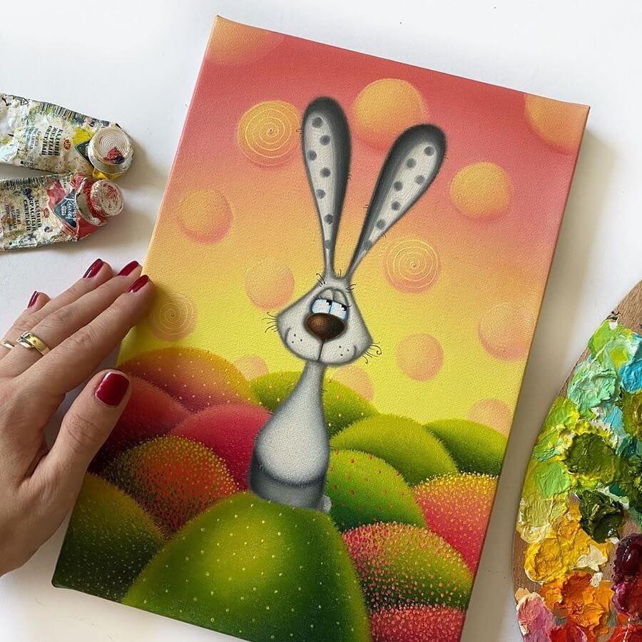 01-The-bunny-Rabbit-Gabriela-Elgaafary-www-designstack-co