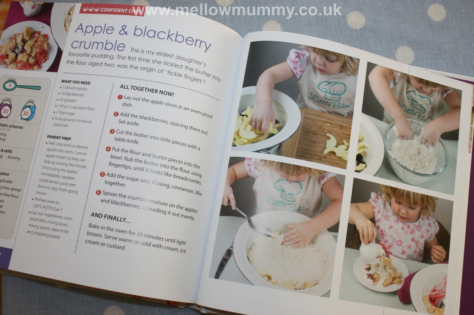 Mellow mummy tickle fingers cookbook hands on fun in the kitchen tickle fingers cookbook by annabel woolmer is a recipe book with lots of ideas for getting toddlers and pre schoolers to join in with cookery one of forumfinder Gallery