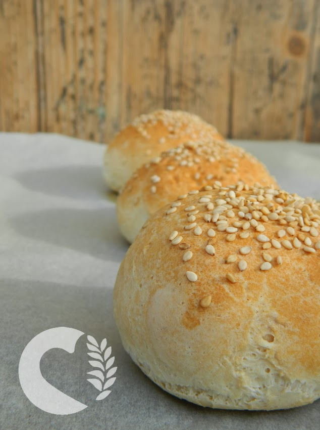 Ben noto Panini morbidi da hamburger con semi di sesamo super mollicosi EZ61