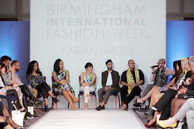 The fashion panel at Birmingham International Fashion Week