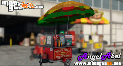 Carrinho de HotDog do GTA V para GTA SA