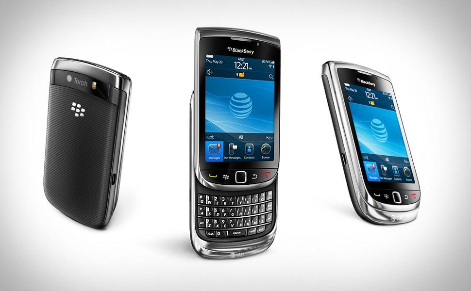 mobile phones: blackberry torch