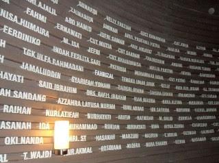 ukir nama di museum aceh