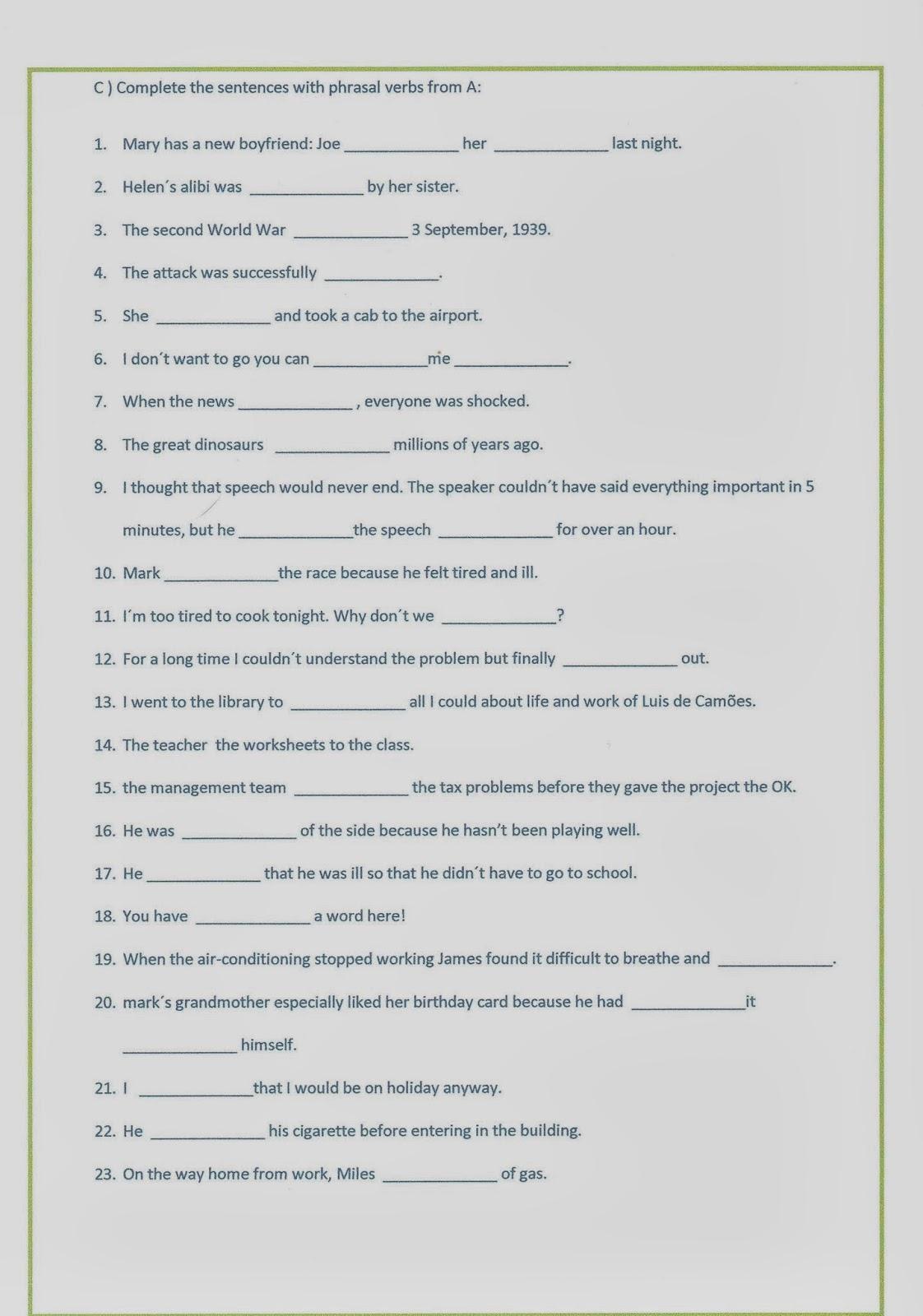 Intermediate English 1 Present Perfect Simple Continuous