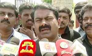 Narendra Modi Will Not Talk About Srilankan Issue with Obama – Naam Tamilar Seeman