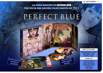 PERFECT BLUE. Bluray Coleccionistas