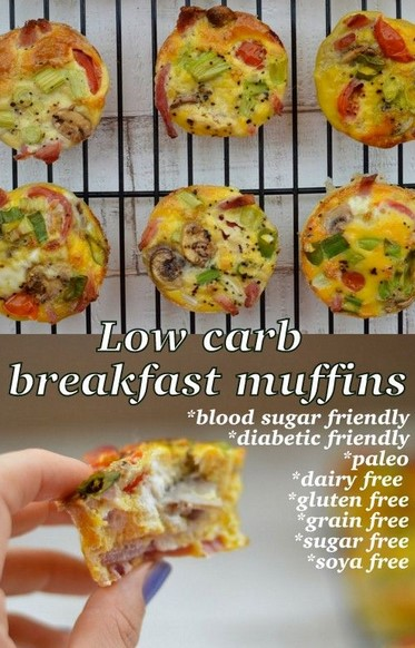 English #Breakfast Mini #Frittatas
