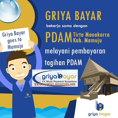 Cara Daftar Griya Bayar PDAM Manakarra Kabupaten Mamuju