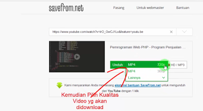 6 - Tutorial Cara Gampang Download Video Di Youtube