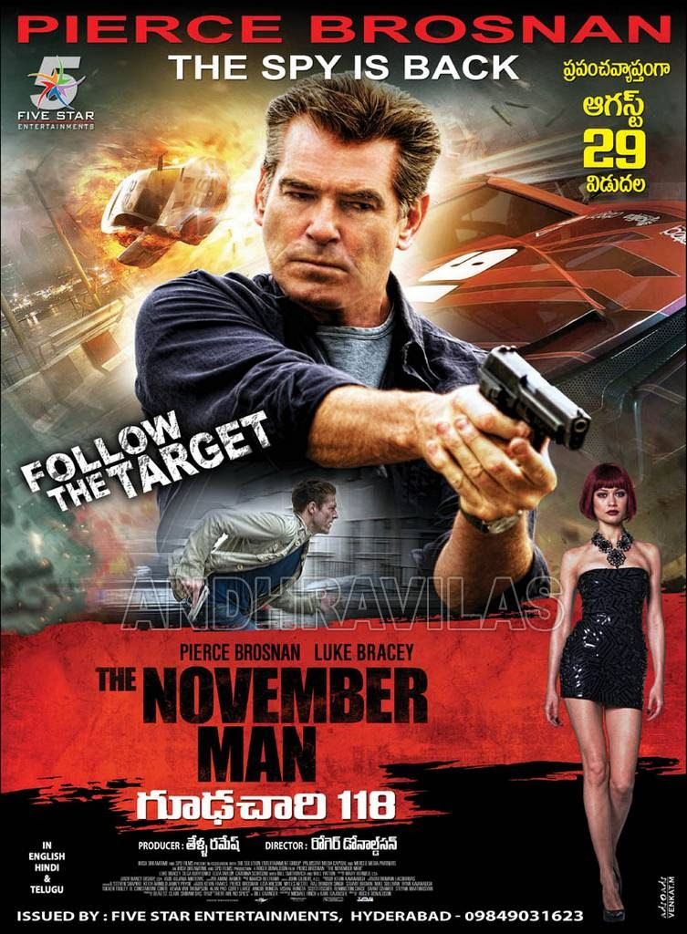 Catholic Media Review: Movie Review: November Man - R