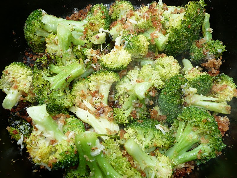 Everyday Dutch Oven Oven Roasted Broccoli