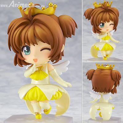 Figura Sakura Kinomoto Angel Crown Co-de Nendoroid Co-de Cardcaptor Sakura