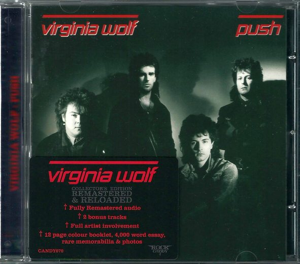 VIRGINIA WOLF - Push [Rock Candy remastered +2] full