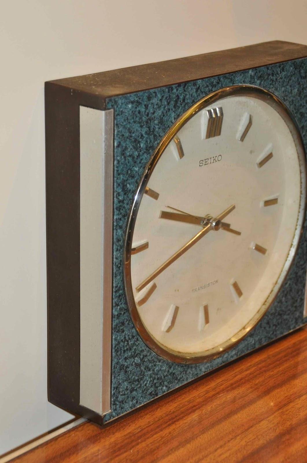 Reloj de pared seiko vintage jacoboansin - Relojes de pared personalizados ...