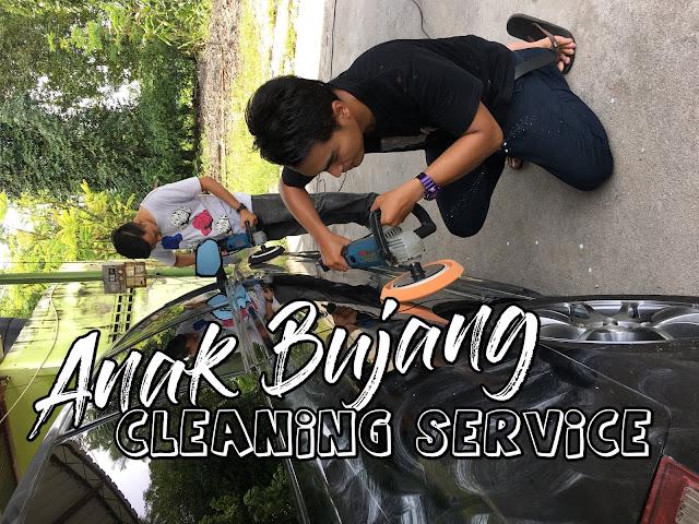 Servis Cuci Kusyen Kereta Murah Area Penang dan Kedah (Kulim) : Anak Bujang Cleaning Service
