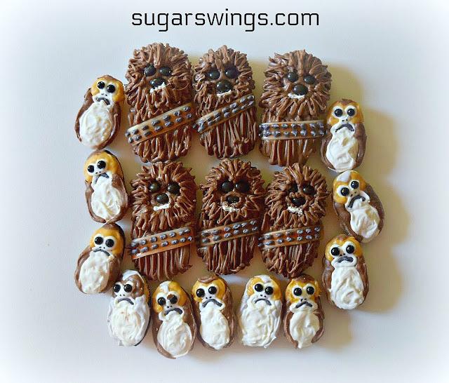 Chocolate Chewbacca Www Dunmorecandykitchen Com: Sugar Swings! Serve Some: Star Wars