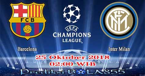 Prediksi Bola855 Barcelona vs Inter Milan 25 Oktober 2018