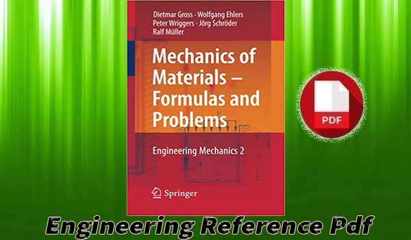 Download Mechanics of Materials Formulas and Problems - Engineering Mechanics 2 free PDF
