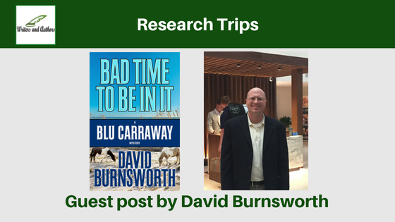 Research Trips, Guest post by David Burnsworth