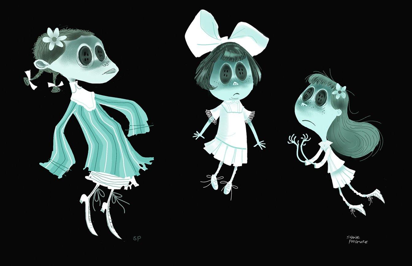 Coraline Concept Art Character Design Storyboards