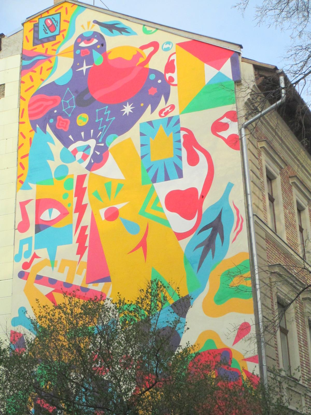 COLOURFULWORLD: Monday Mural - Kaleidoscope