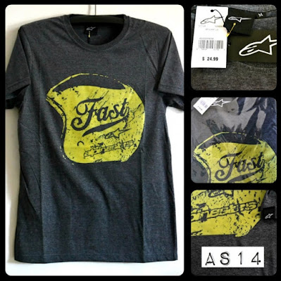 Kaos Distro Surfing Skate ALPINESTAR Premium Kode AS14