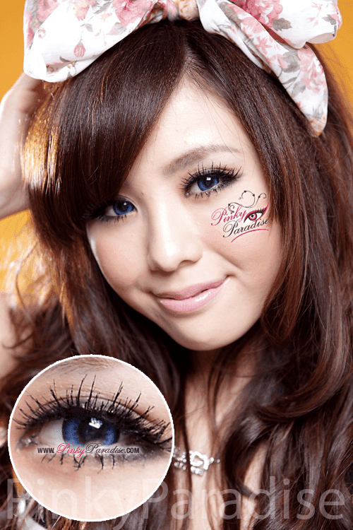G&G Max Pure Blue Circle Lenses (Colored Contacts)