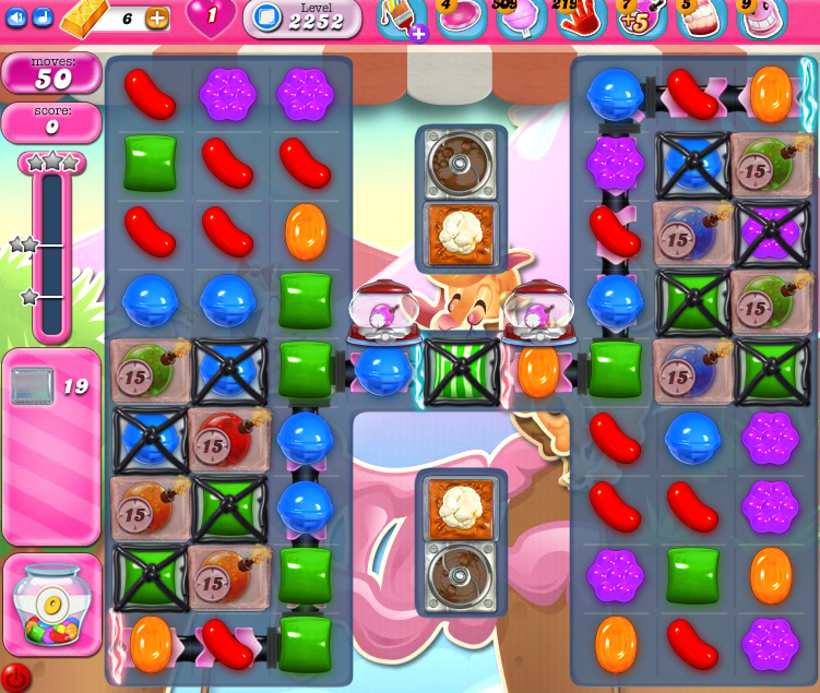 Candy Crush Saga level 2252