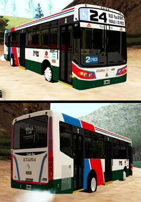 Free Download Linea 24 Todobus Pompeya Mod for GTA San Andreas.