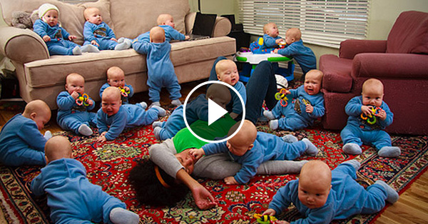Woman Gives Birth To Seventeen Babies At Once! Insane!