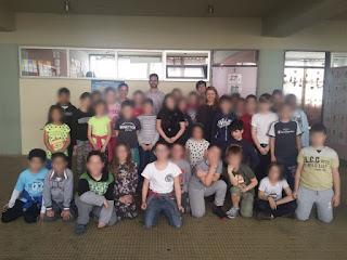 Ομαδική με δασκάλες και παιδιά